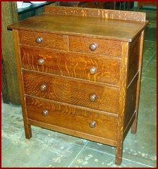 Gustav Stickley Dresser